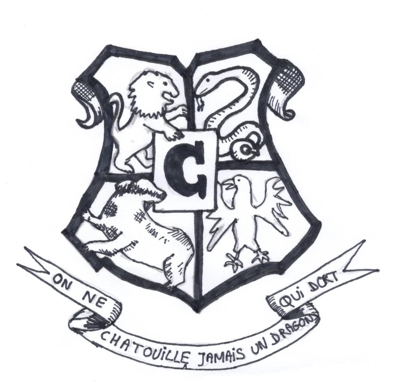 L'invitation Harry Potter - sandrine dans tous ses états