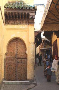 Médina de FES interdite aux voitures Maroc