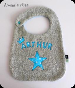 Bavoir étoilé Arthur