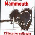 Autopsie du mammouth.