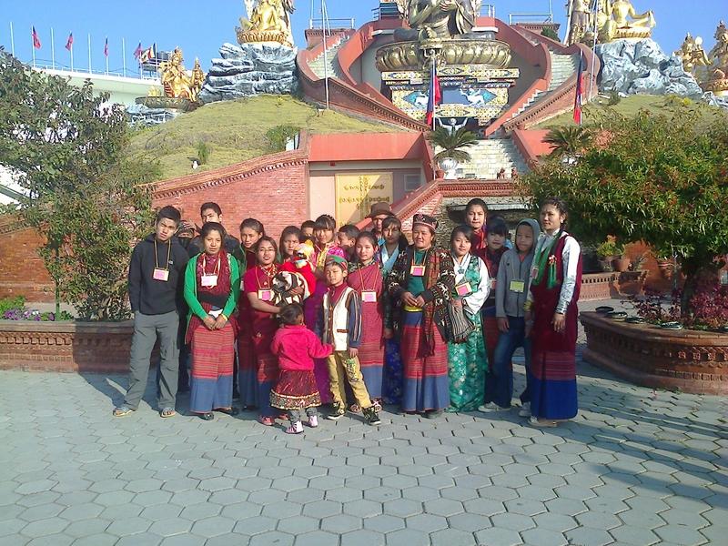White Gonpa Visit