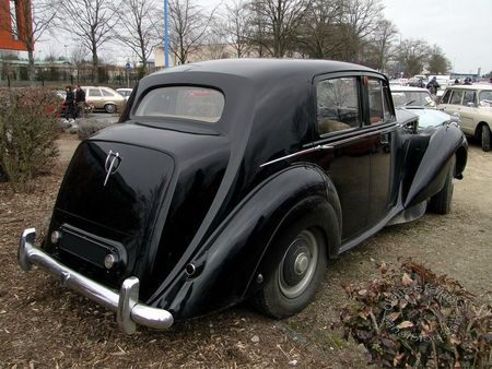 rolls royce silver dawn 1949 1955 salon champenois vehicule de collection reims 2012 4