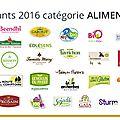 Membre du jury pour la sélection des meilleurs produits bio de l'année 2016