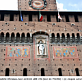 30 - MILAN Castello Sforzesco - tour du Filerete fin XVe s