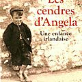 Les cendres d'angela de franck mc court