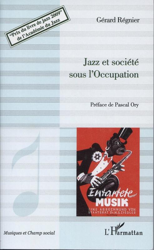 Jazz zt société sous l'Occupation