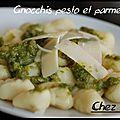 Gnocchis pesto et parmesan voici une recette que