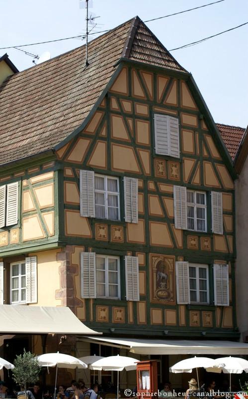 Ribeauvillé maison peinte
