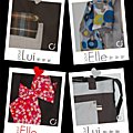 Nouvelle collection d'accessoires et sac  main pour Elle et Lui Spcial St Valentin