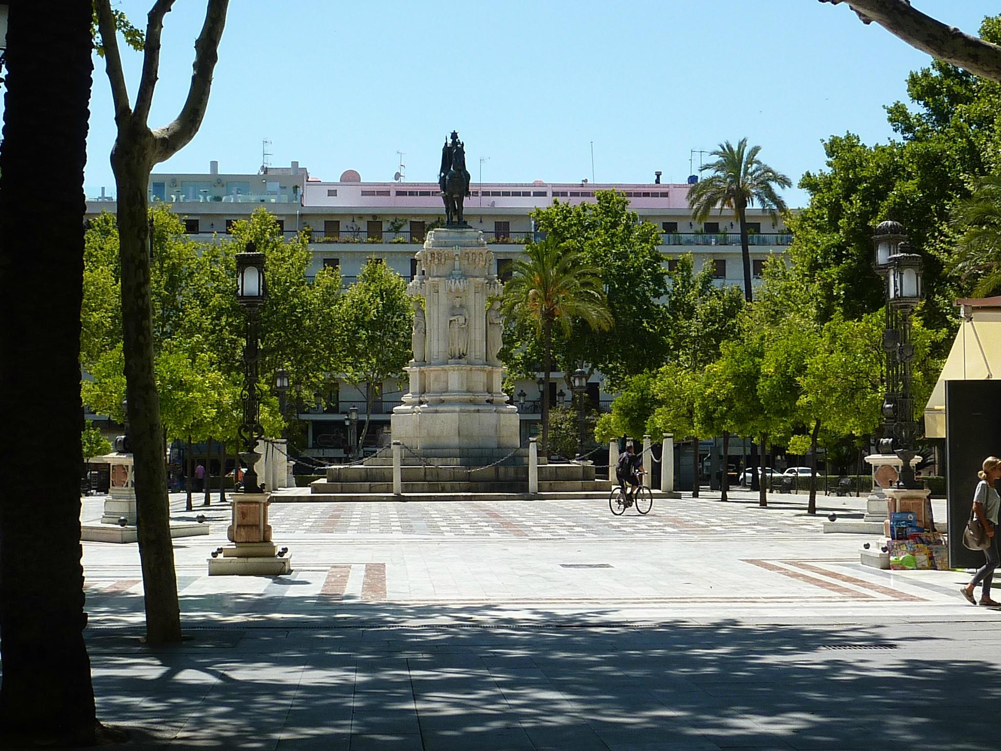 Statue de Ferdinand III à Séville