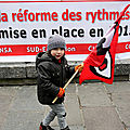 Contre le dcret des rythmes scolaires