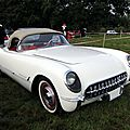 Chevrolet corvette roadster 1954-1955