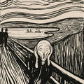 Edvard Munch, Das Gsechrei (The Scream) @ Sothebys fall Print auction 