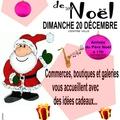 20 décembre, marché de noël à st sauveur...