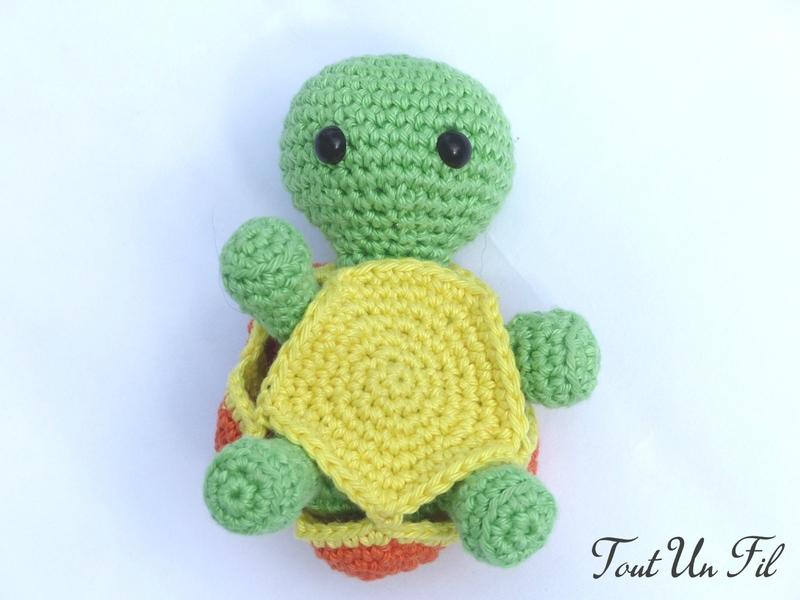 Tortue Amigurumi Jouet crochet 03