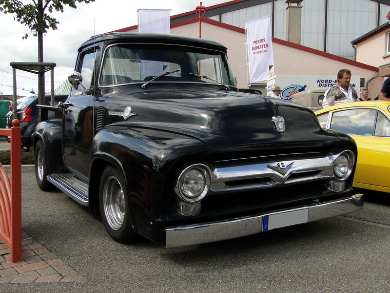 ford f 100 pickup de 1956 oldiesfan67 mon blog auto. Black Bedroom Furniture Sets. Home Design Ideas