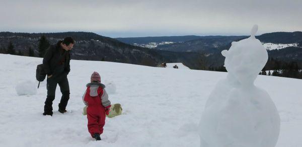 bonhomme neige & montagne