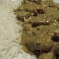 Filet mignon au curry et cacahuètes