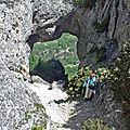 Trou du furet 800 m du grand pas – eyzahut –drôme provençale