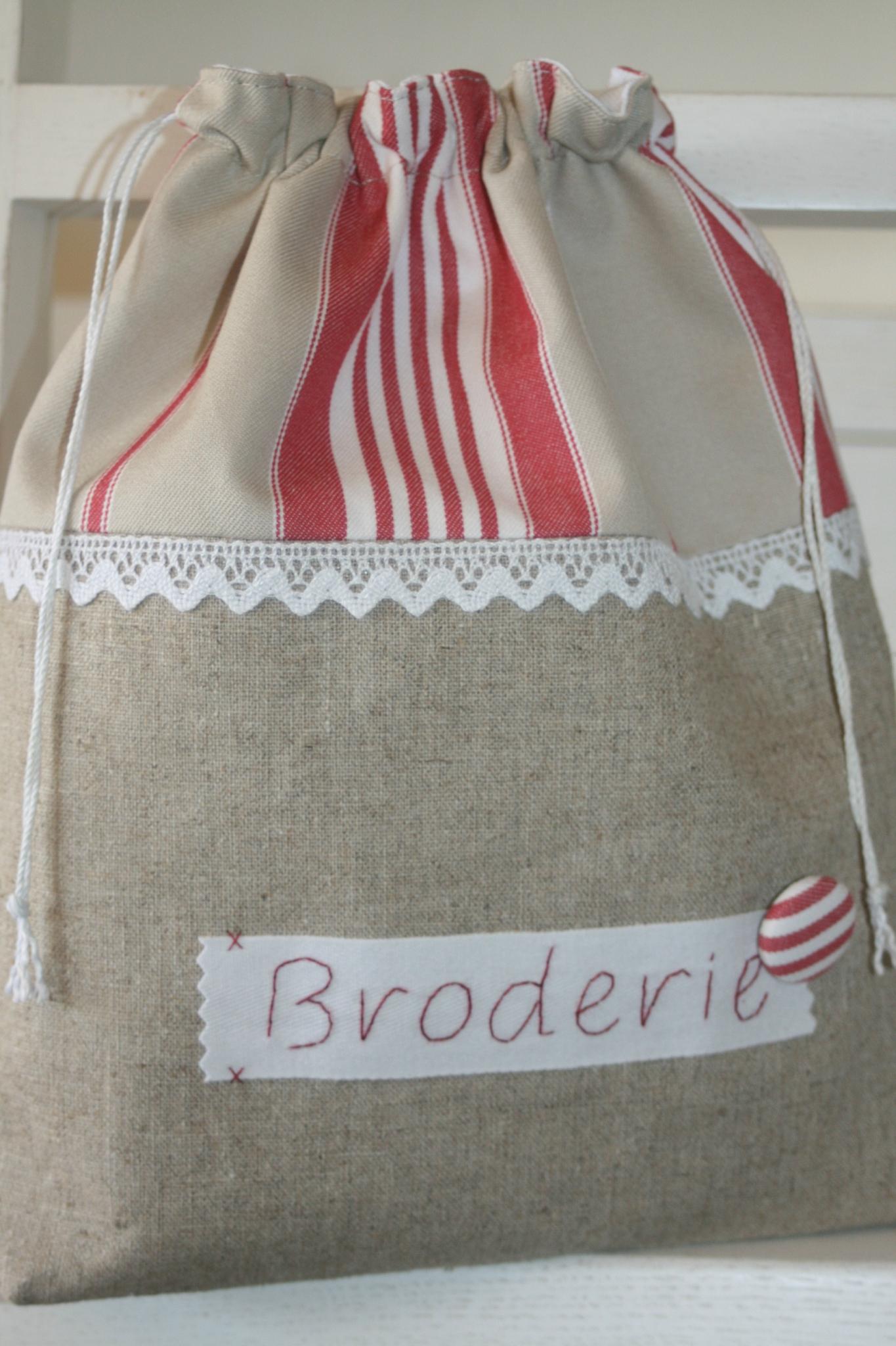 """Pochon """"Broderie"""""""