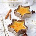 Crème brûlée à l'orange & à la cannelle #noël #vegan #sans gluten