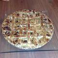 Délicieuse tarte aux mirabelles,crème pâtissière vanille/amandes