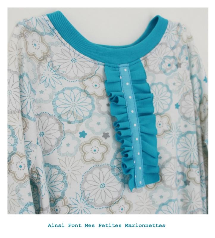 robe turquoise maelenn 3