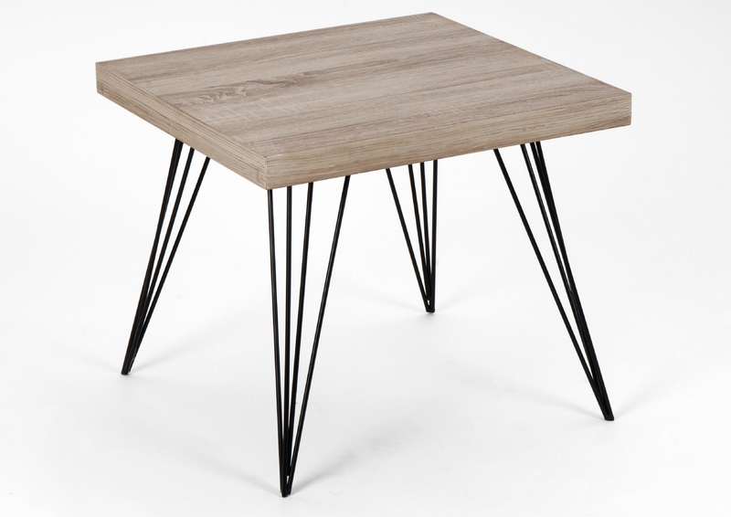 Pied de table basse metal - Table bois pied metal ...