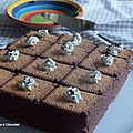 Gâteau aux petits beurre : chocolat et café noisette