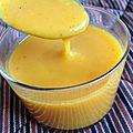 Soupe de carottes et butternut aux épices