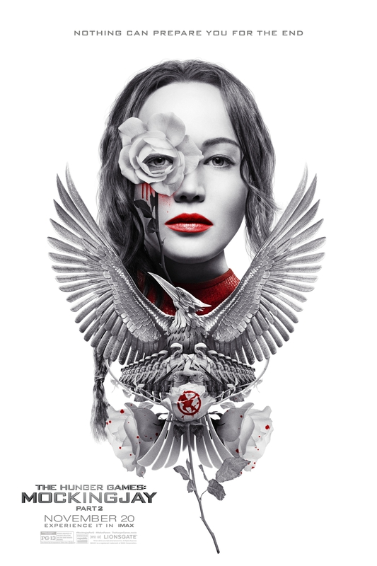 Hunger Games Mockingjay Part 2 IMAX poster