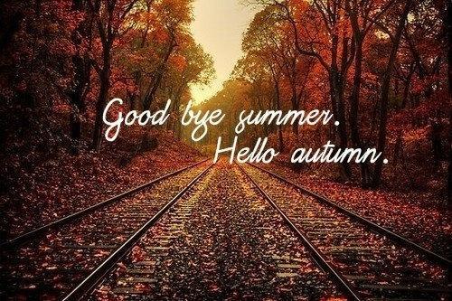 Sauter à pieds joints dans l'automne.