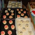2008 04 12 Les pains aux raisins et a la praline que Cyril a fait avant cuisson