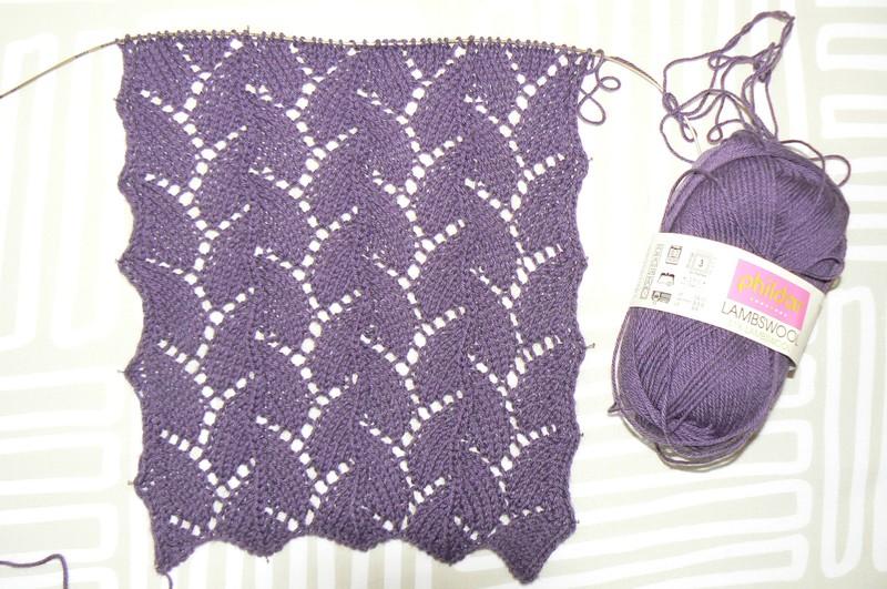 Croix et mailles - Point tricot ajoure facile ...