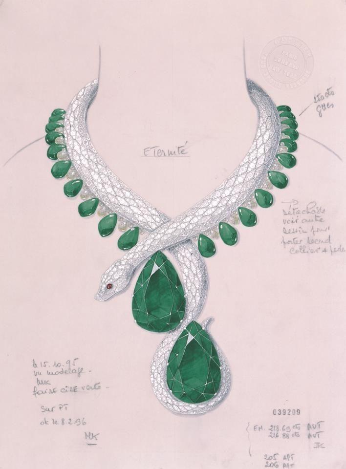 Cartier drawings - Alain.R.Truong