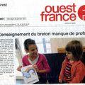 L'enseignement du et en breton
