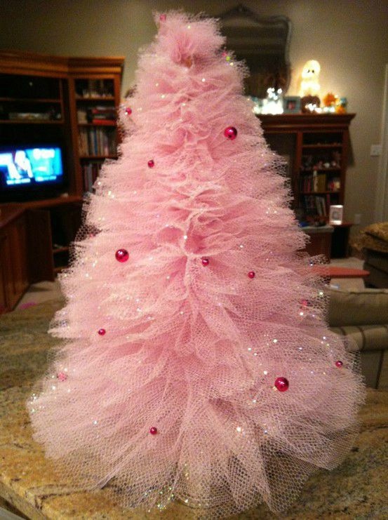 deco sapin tulle