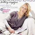 Le comptoir dans le debbie bliss knitting magazine volume 3