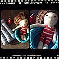 Ma poupée au crochet (enfin celle de rose)...