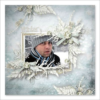 charming winter pages ct10