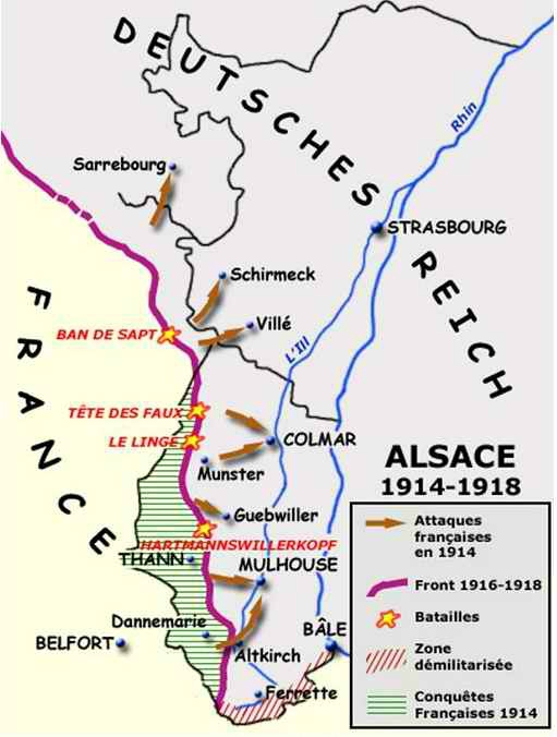 Bataille alsace 1914