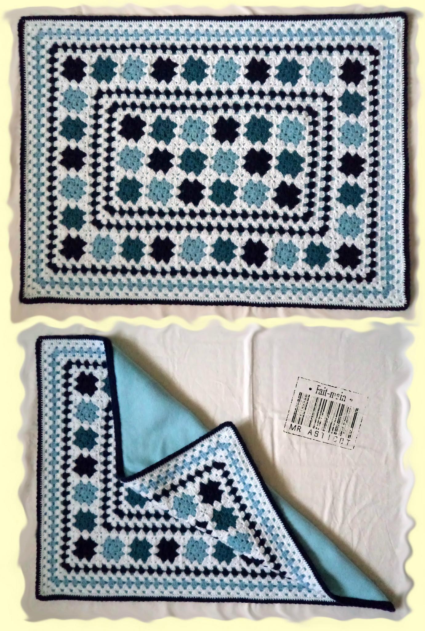 BB blanket bleu