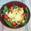 Salade aux babybels