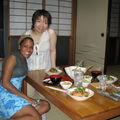 souper chez Ms Kurimoto (ma maman japonaise) et sa fille