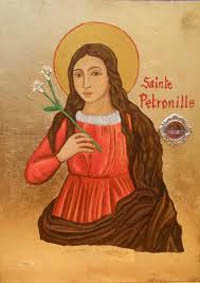 Picture-of-St-Petronille-Patron-Saint