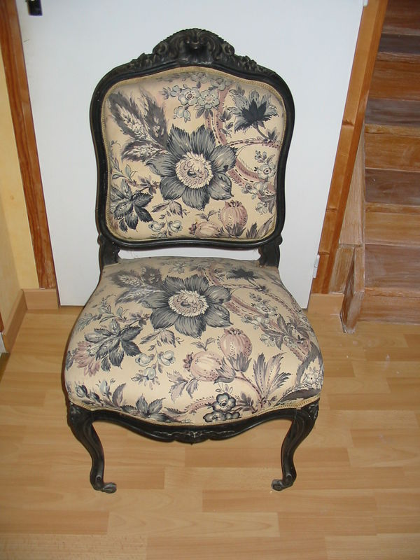 fauteuil ancien patin tendance peinture et patine. Black Bedroom Furniture Sets. Home Design Ideas