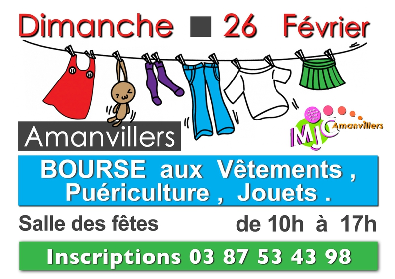Bourse ve-tements fev