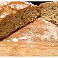 Pain ultra facile rapide en moins de 3h sans robot : le pain cocotte !