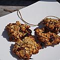 Cookies croustillants a la banane