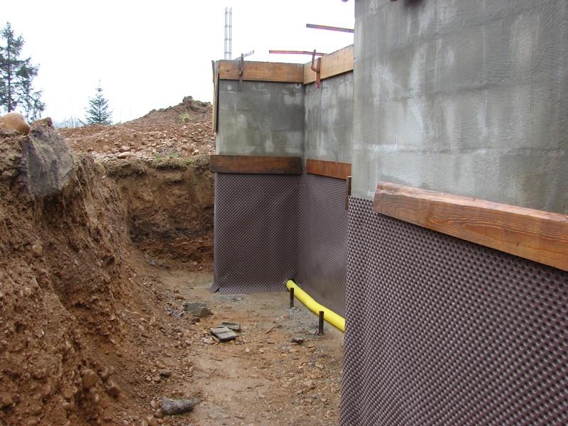 Sous sol 6 123 les murs 456 le toit 789 notre nid - Plan de drainage maison ...
